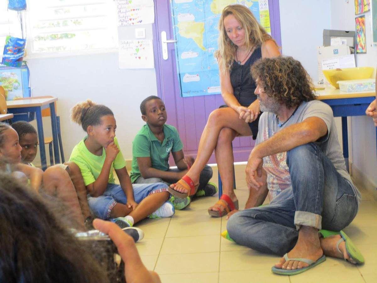 Manu, Martin, Michèle et les enfants