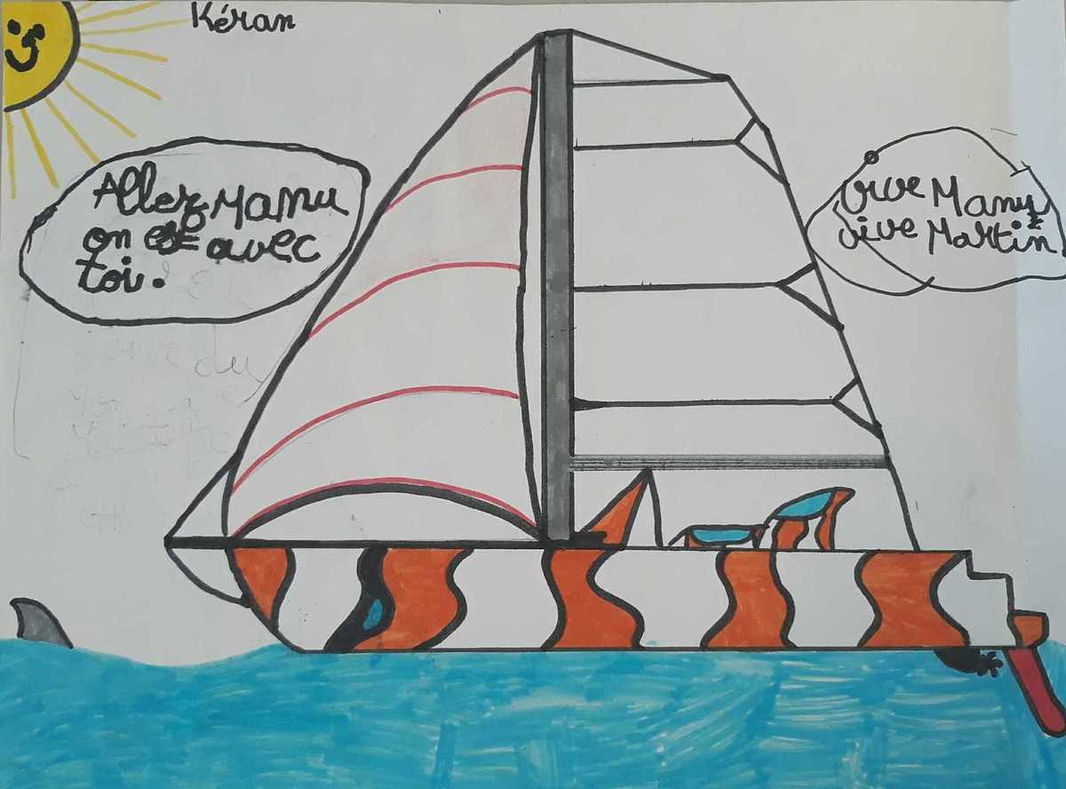 Les plus beaux dessins de la longue route de Manu!!
