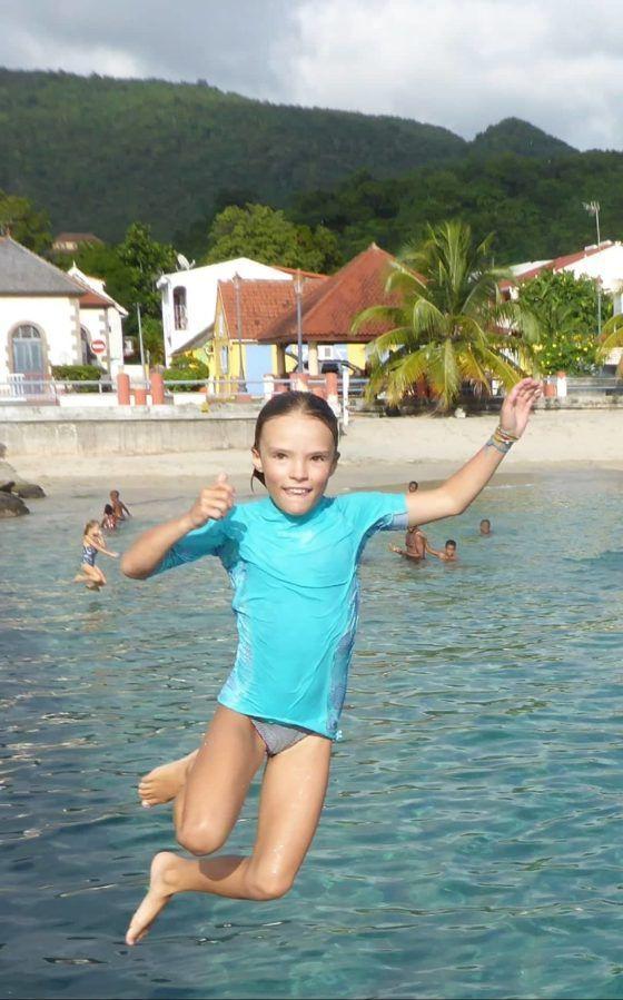 Par Nora, Michèle, les enfants des Anses d'Arlet et le blog...