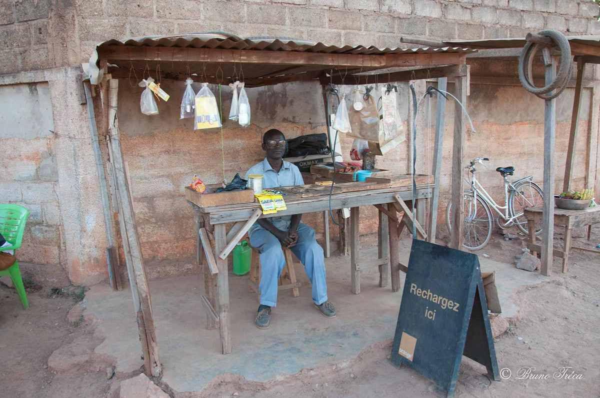 Scènes de rue à Ouagadougou par Bruno Tréca