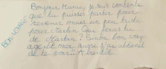 Échanges de lettres entre Manu et les enfants...