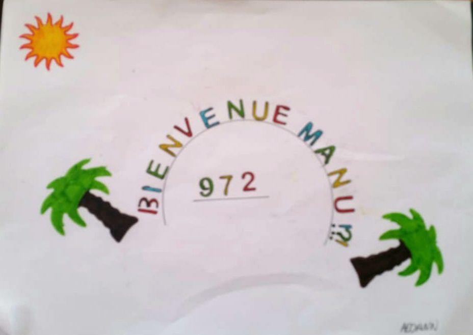 Bonne arrivée en Martinique Manu!