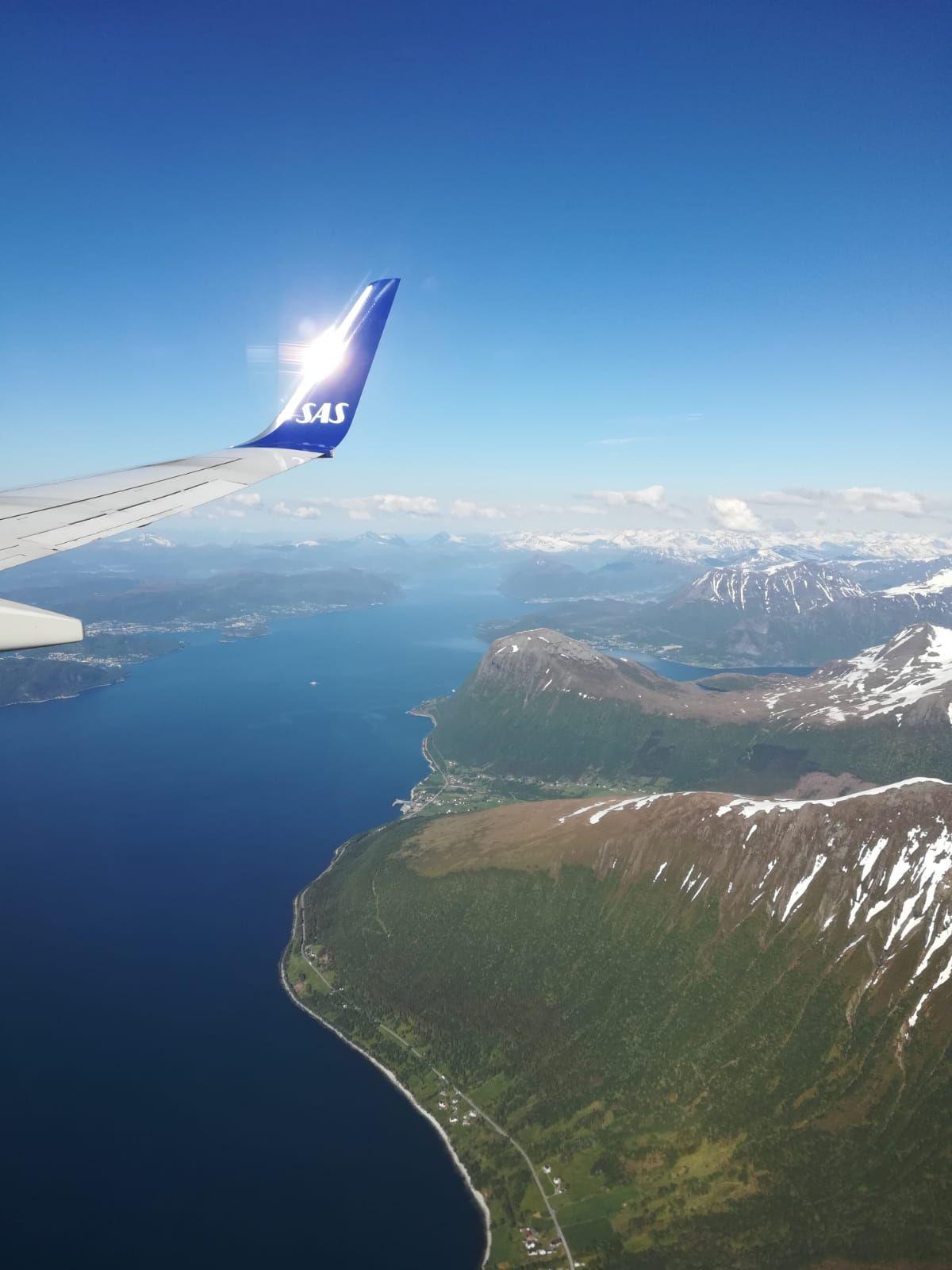 ManuE en Norvège, départ pour le cercle polaire arctique.