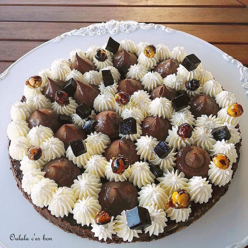 fantastik Christophe Michalak crémeux chocolat chantilly vanille