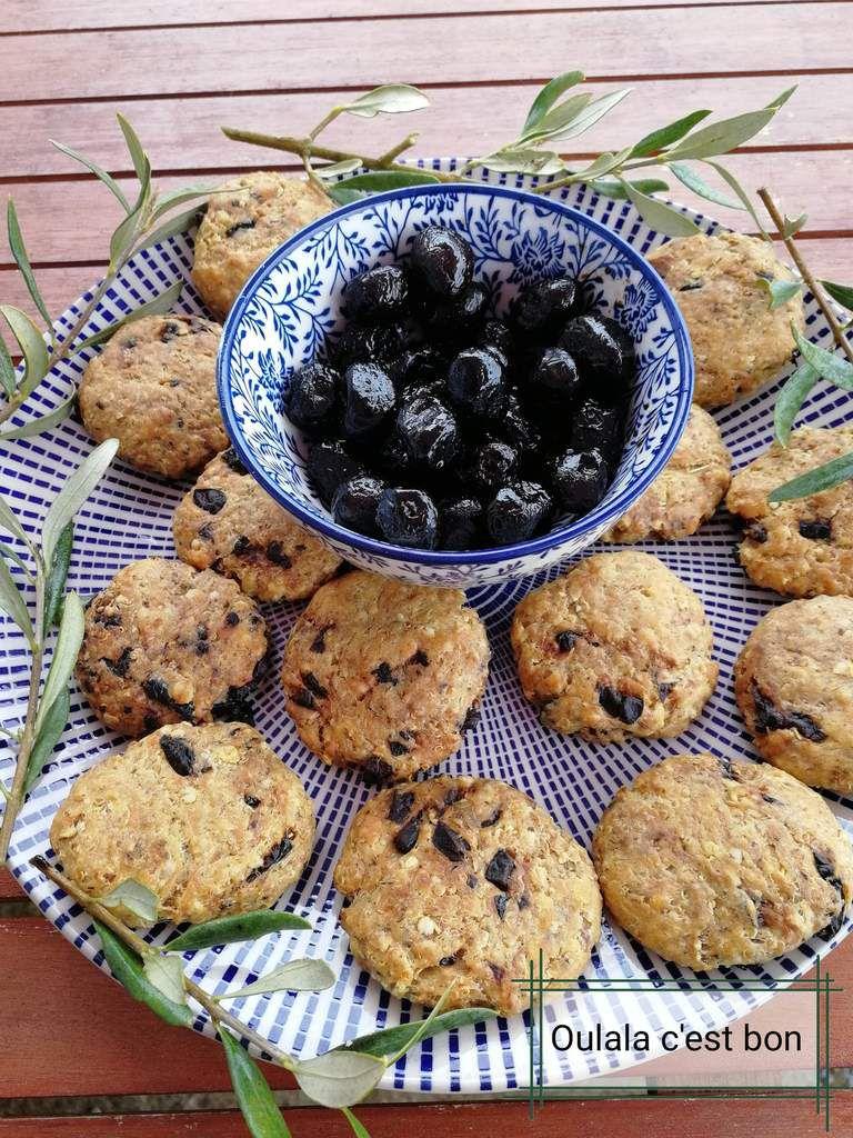 Cookies Au Quinoa Flocons D Avoine Olives Et Parmesan Cookies