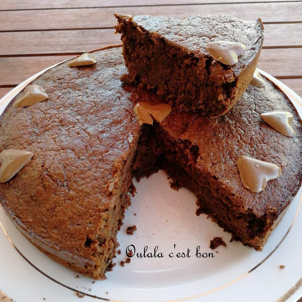 gâteau chocolat courgette healthy