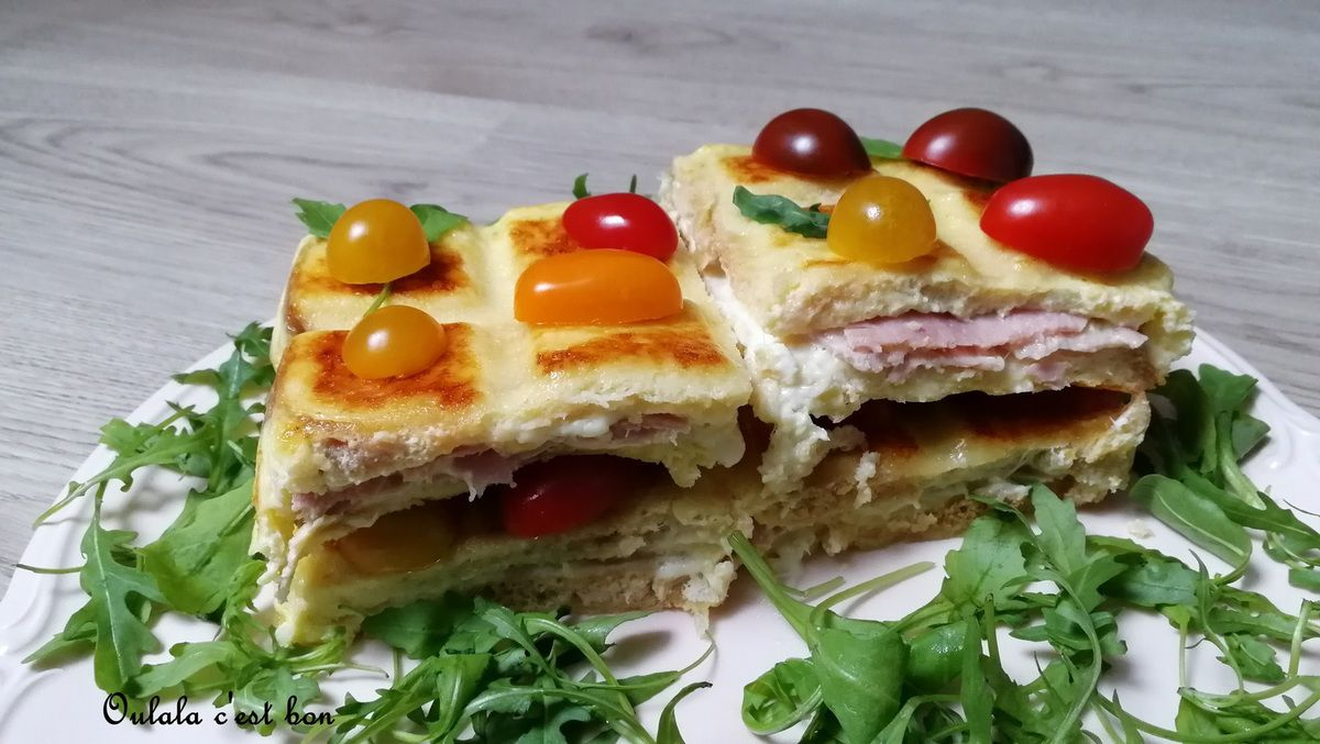 madrange croque monsieur tablette jambon