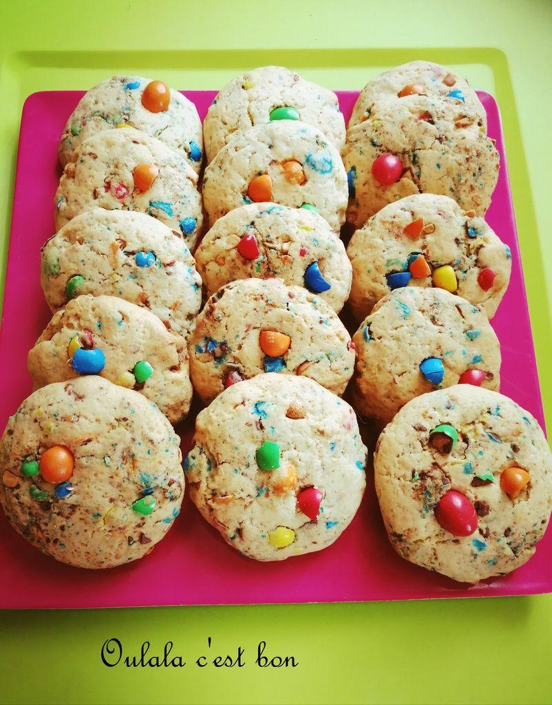 cookies M&M'S patisserie cuisine