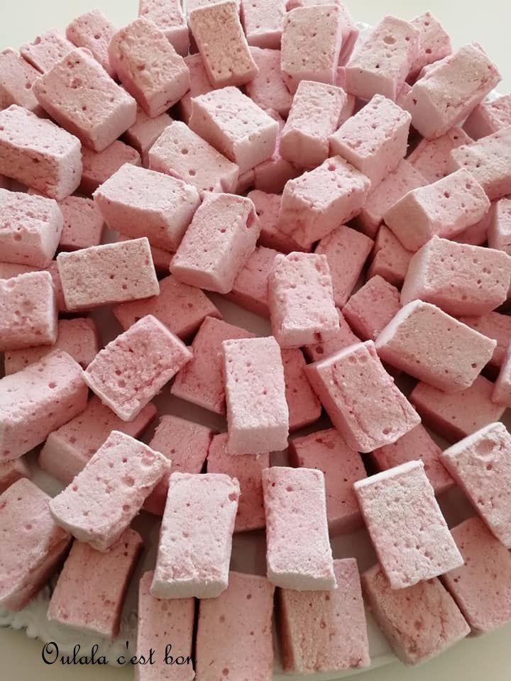 guimauve marshmallow trimoline purée de fruits