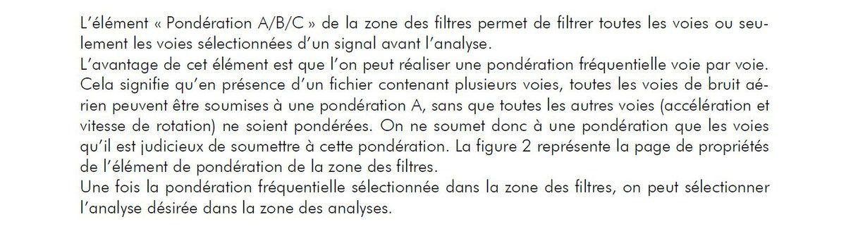 LES PONDERATIONS...  A, B, C, D