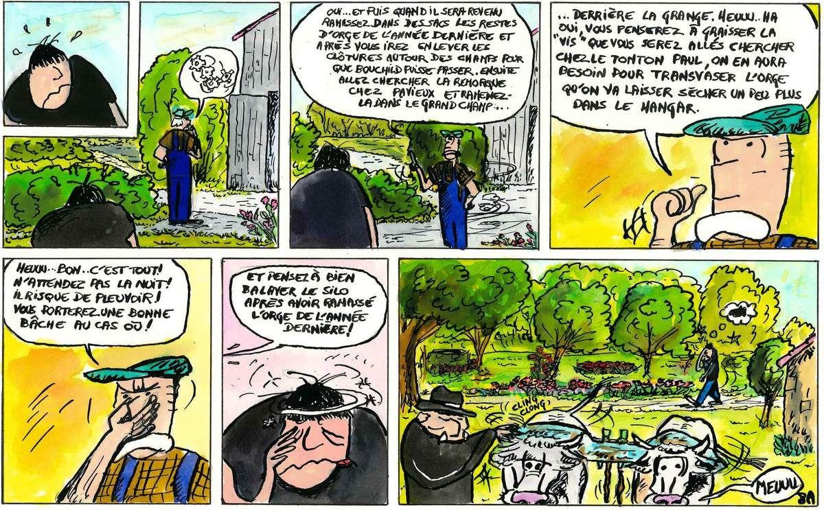 Porcocan bd monde paysan d'hier et d'avant hier complète. XV