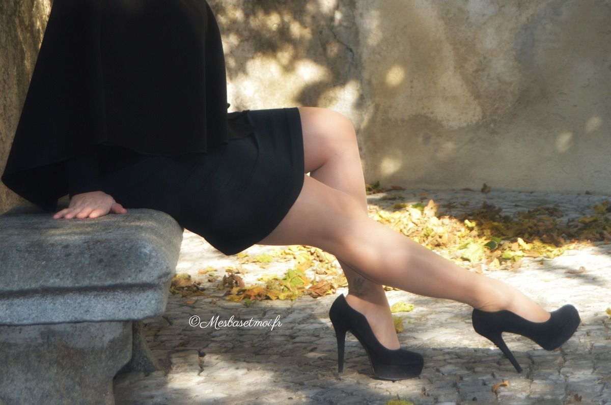 Ascension en talons et bas nylon...