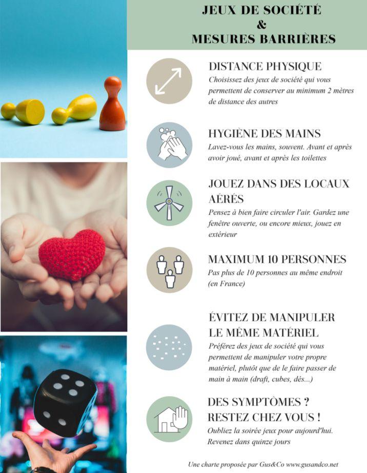 Jeux et gestes barrières