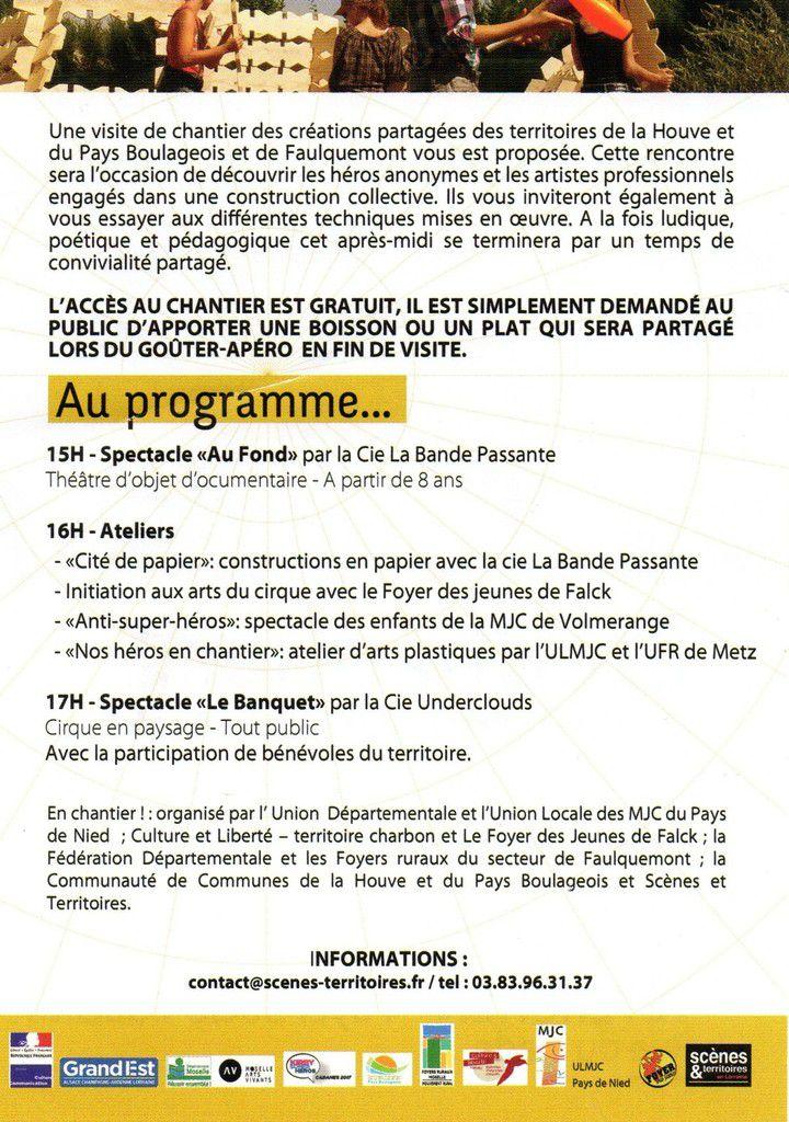 """""""En Chantier"""" : dimanche 11 juin à Téterchen...."""