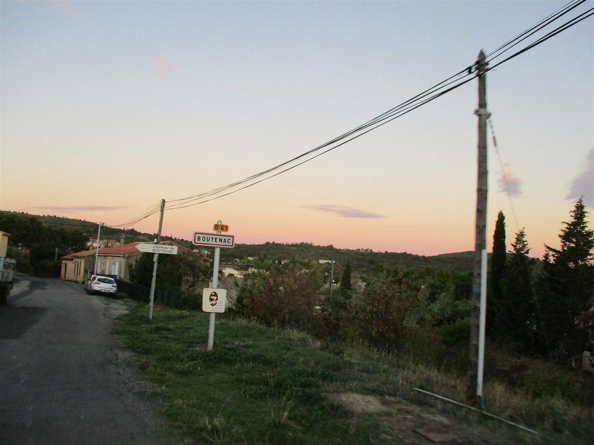 Mardi 8 octobre : Encore une virée dans les CORBIÈRES..