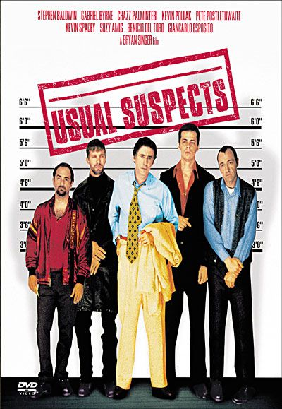 USUAL SUSPECTS - Bryan Singer (1995)
