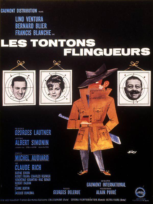 LES TONTONS FLINGUEURS - Georges Lautner (1963)