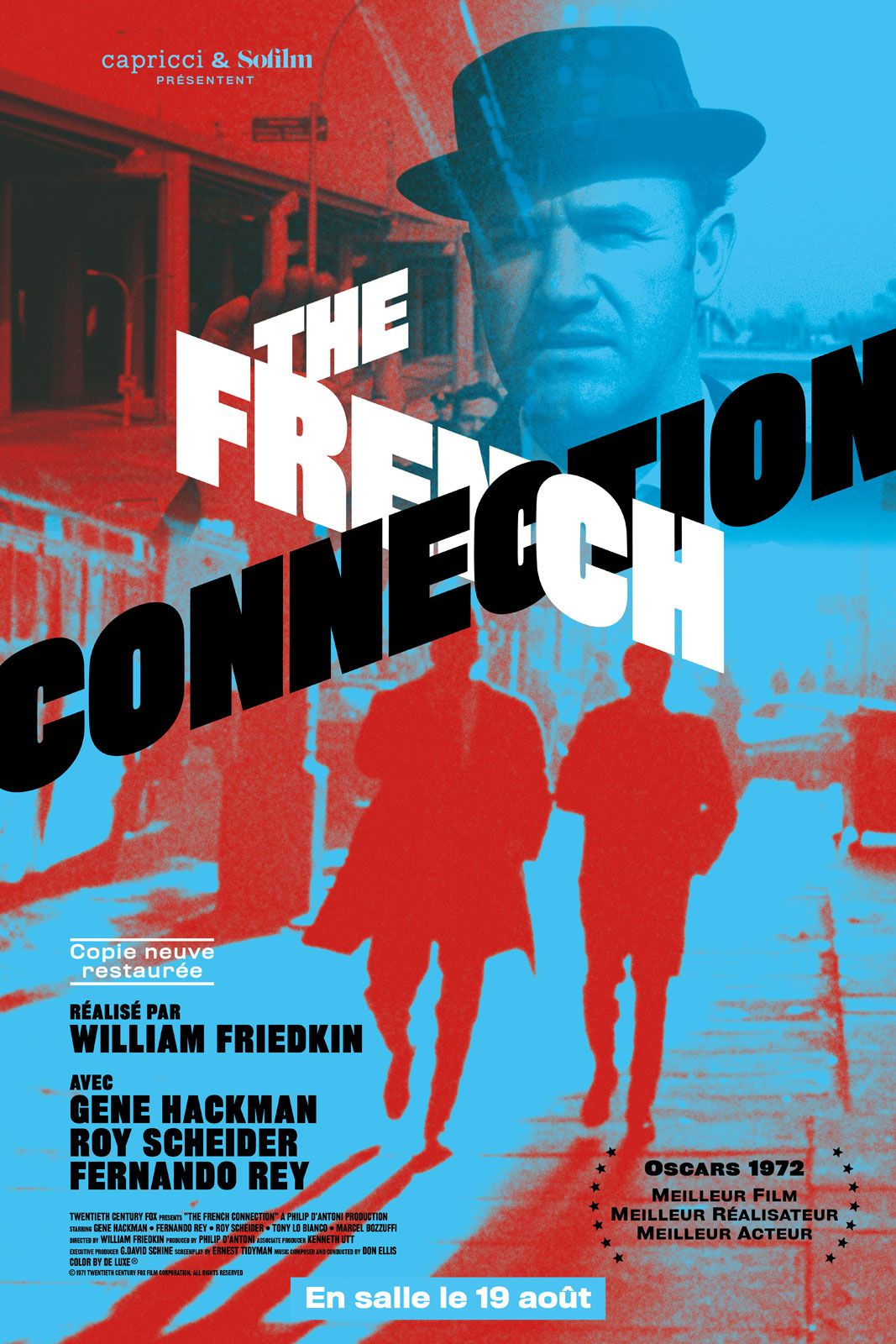 FRENCH CONNECTION - William Friedkin (1971)