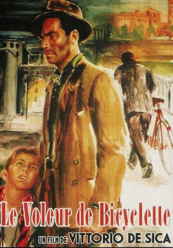 LE VOLEUR DE BICYCLETTE - Vittorio De Sica (1948)