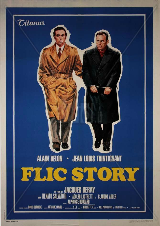 FLIC STORY - Jacques Deray (1975)