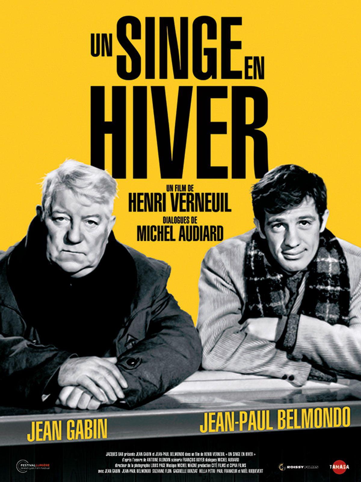 UN SINGE EN HIVER - Henri Verneuil (1962)