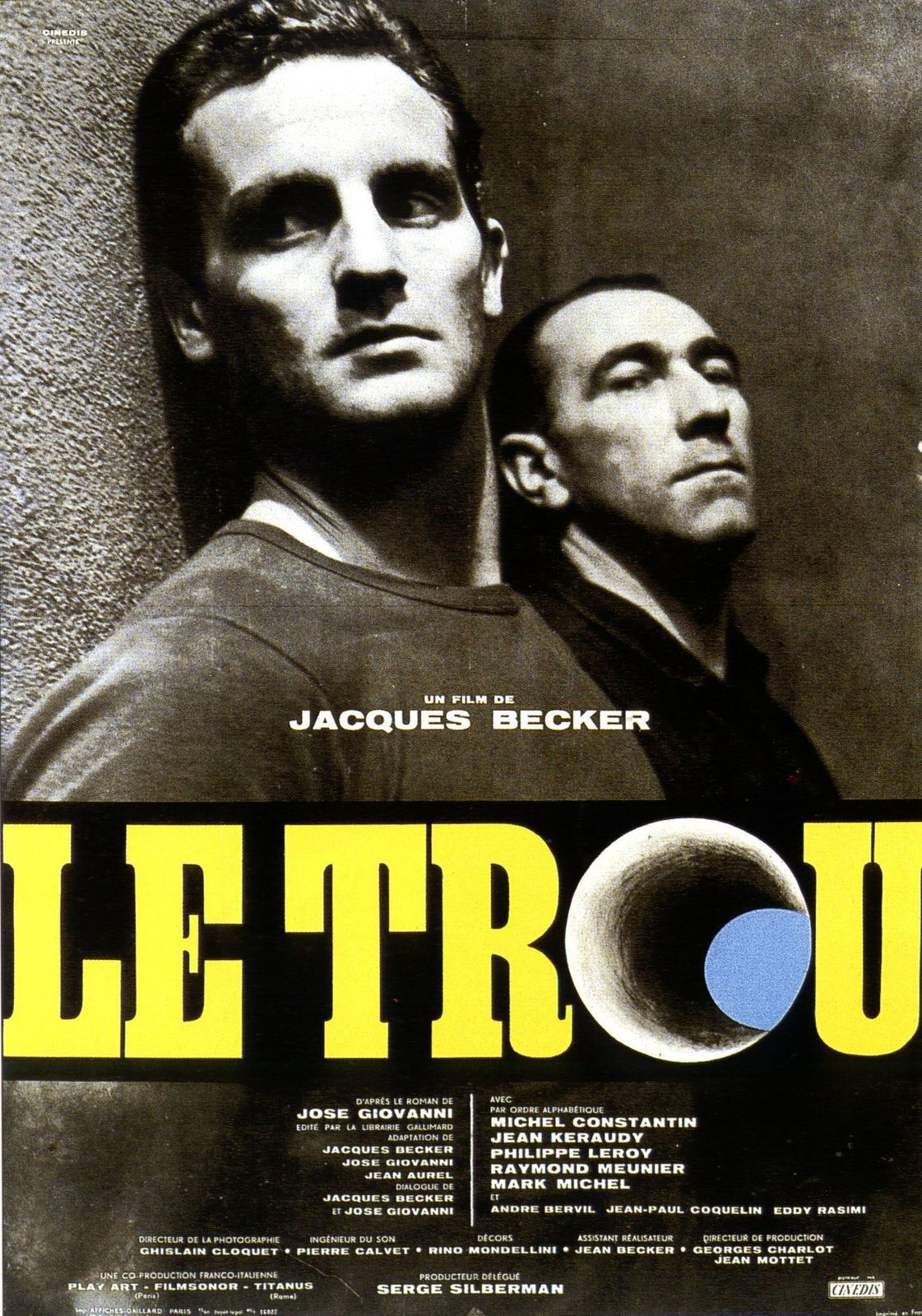 LE TROU - Jacques Becker (1960)