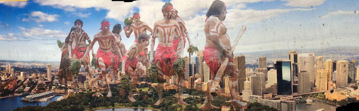 Très belle image de la présence de la culture aborigène (Royal Botanic Garden)