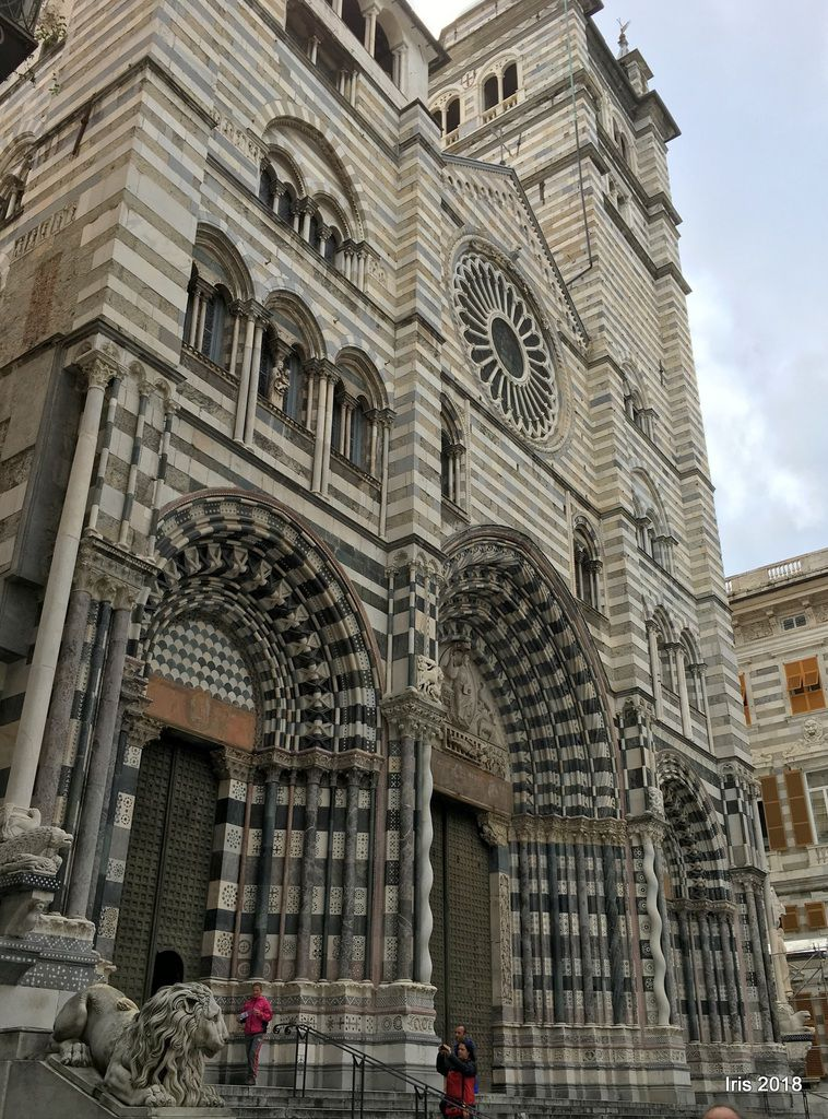 La cathédrale San Lorenzo d'influence persanne