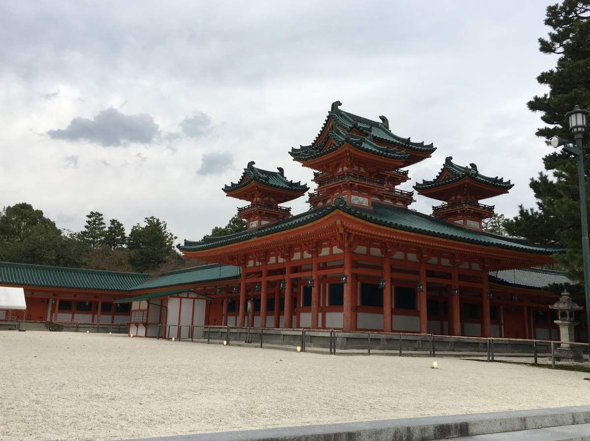Le sanctuaire shinto Heian-Jingu shrine