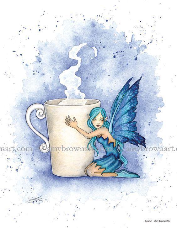 Les thés enchantés d'Amy Brown