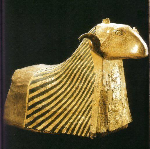 Le bélier Khnoum, Basse Époque, Musée du Louvre.