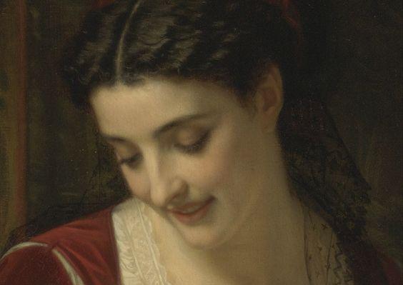 Affection maternelle, 1867, détail 2