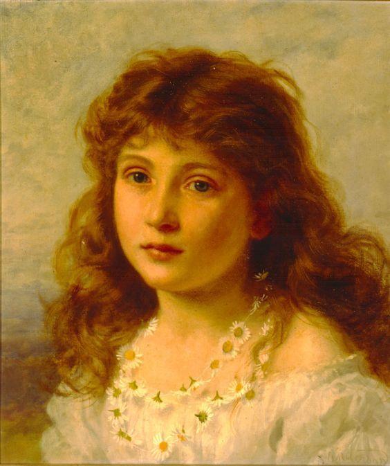 La jeune fille rêveuse