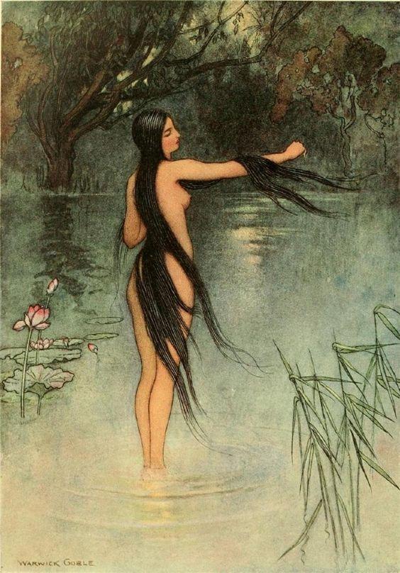 La jeune fille des eaux