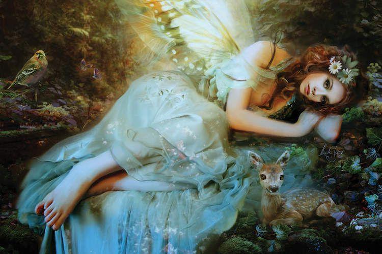 © Bente Schlick, Spring Fairy