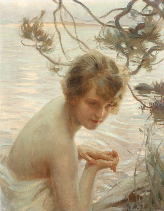 Portrait au bord de l'eau 2