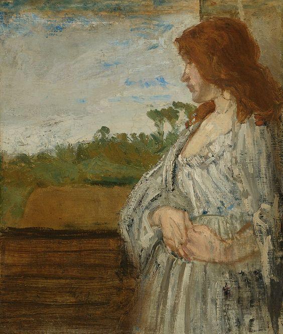 James Abbott Mac Neil Whistler (1834-1903), A White Note