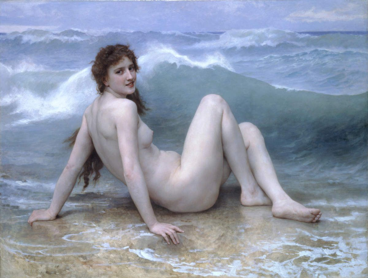 Le Tableau du Samedi : William Bouguereau, La Vague