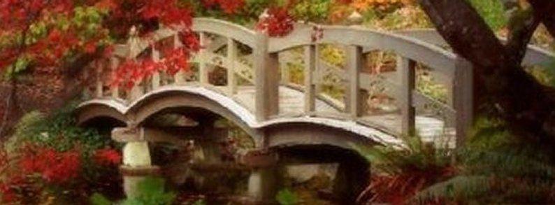 Hans Andersen Brendekilde, Le Jardin Japonais, vers 1900.