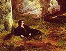 Le Tableau du Samedi:Thomas Moran, Sous les arbres, 1865.