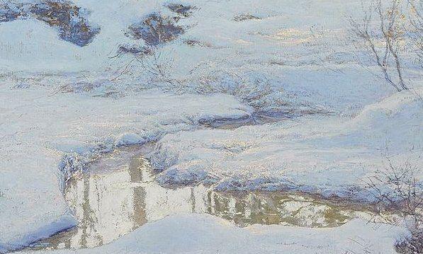 Le Tableau du Samedi: Walter Launt Palmer: Winter Reflections