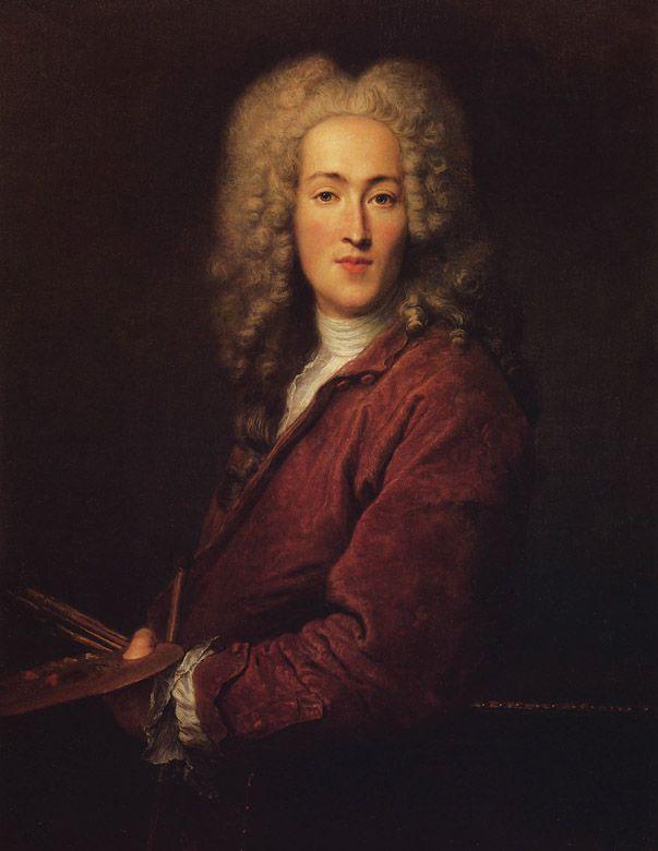 Nicolas Lancret, Autoportrait