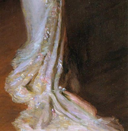 Le Tableau du Samedi : Lilla Cabot Perry, « Lady in a evening dress », 1911