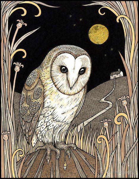 Le Tableau du Samedi: Valentine Cameron Prinsep, The Owl (La Chouette), 1863