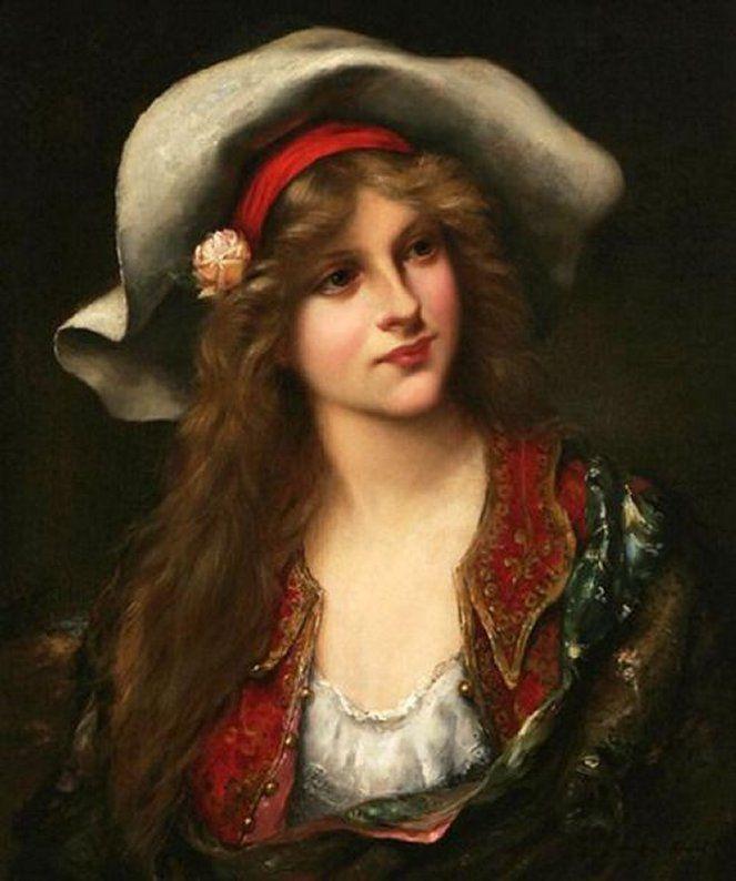 Le Tableau du Samedi: François-Martin Kavel, La jeune femme au chapeau souple