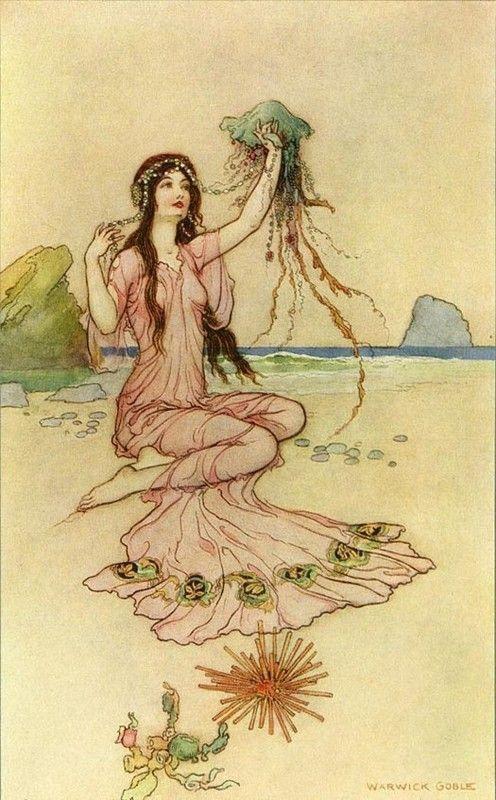 Warwick Goble, La Princesse du Rivage