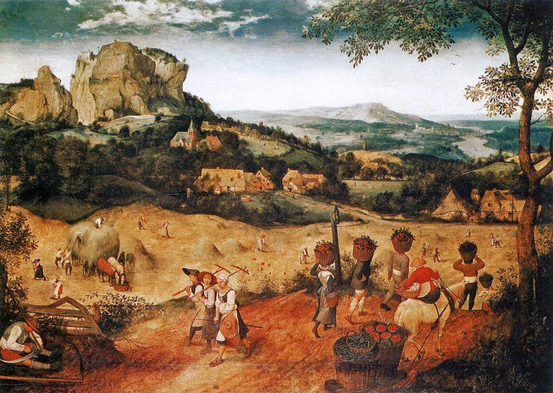 Le Tableau du Samedi: Pieter Brueghel dit l'Ancien, La Fenaison