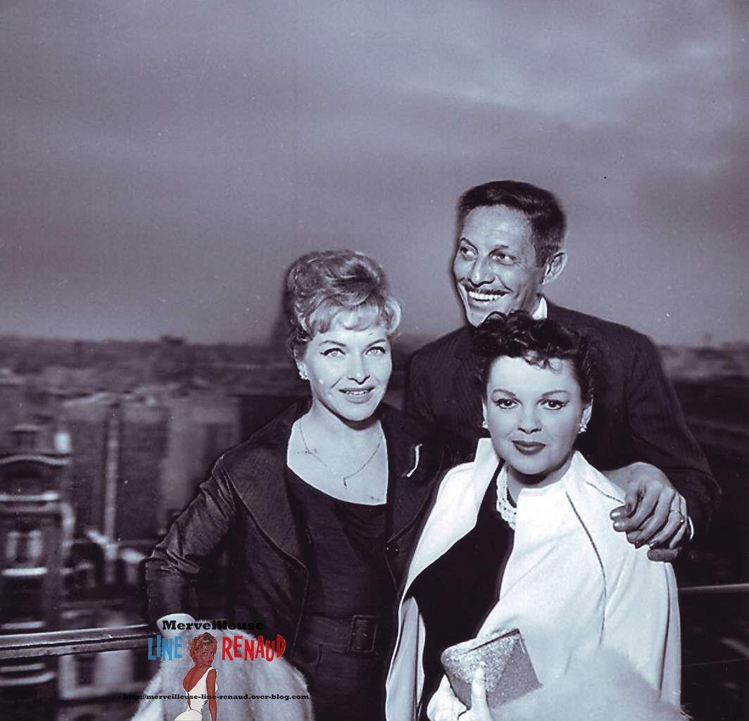 PHOTOS: Line Renaud, Judy Garland et Jean Sablon 1960
