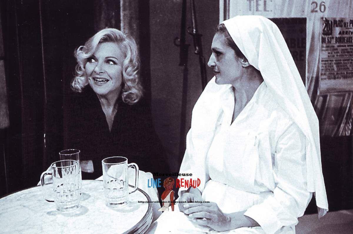 PHOTOS: Line Renaud et Dalida 1973