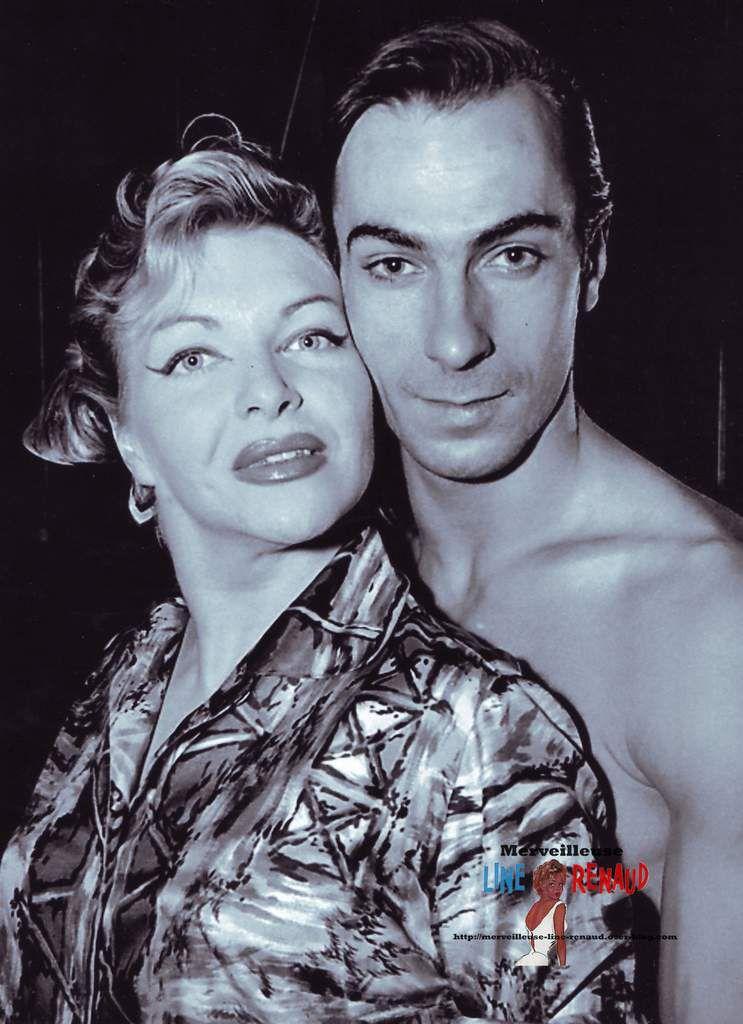 PHOTOS: Line Renaud avec Fernando Rego 1959